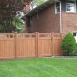 Cedar Wood Grain PVC- Spindle Top