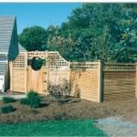 Custom Lattice Fence