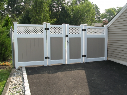 Brilliant Vinyl Fence Ideas Fencing Throughout Inspiration Decorating